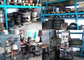 Ruote per muletto ed attrezzatura