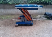 Piattaforma elevatrice idraulica ribaltabile, 3 pezzi