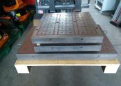 Piano magnetico per fresatrice carpenteria