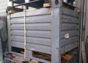 Contenitore metallico industriale in lamiera pesante