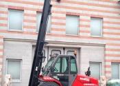 Muletto Manitou M30-4 diesel 30q cabina chiusa