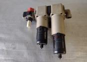 Filtro per aria compressa a doppio stadio anti condensa