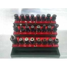 Lotto di coni ISO40 ISO50 per fresa metalmeccanica